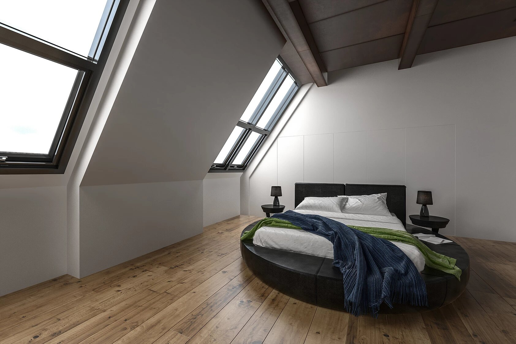 Loft extension  in Borough