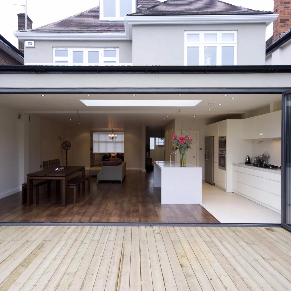 House extension builder in Woolwich