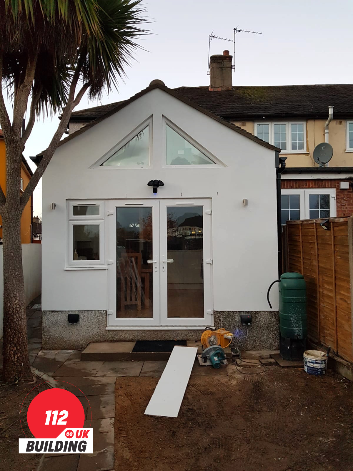 HOUSE EXTENSION in Chaldon