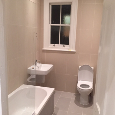 Airbnb flat refurbishment  in SW13